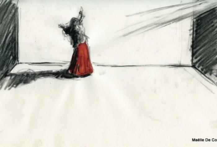 Dessin 5 - Maelle de Coux - 2014